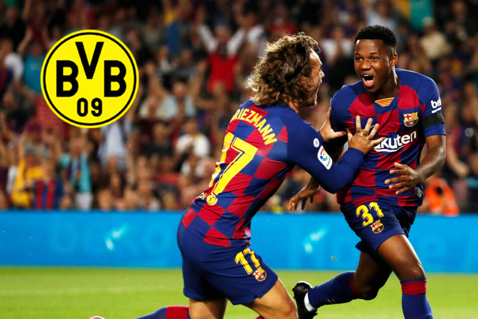 BVB vor Transfercoup? Dortmund soll an Barca-Youngster Ansu Fati dran sein!