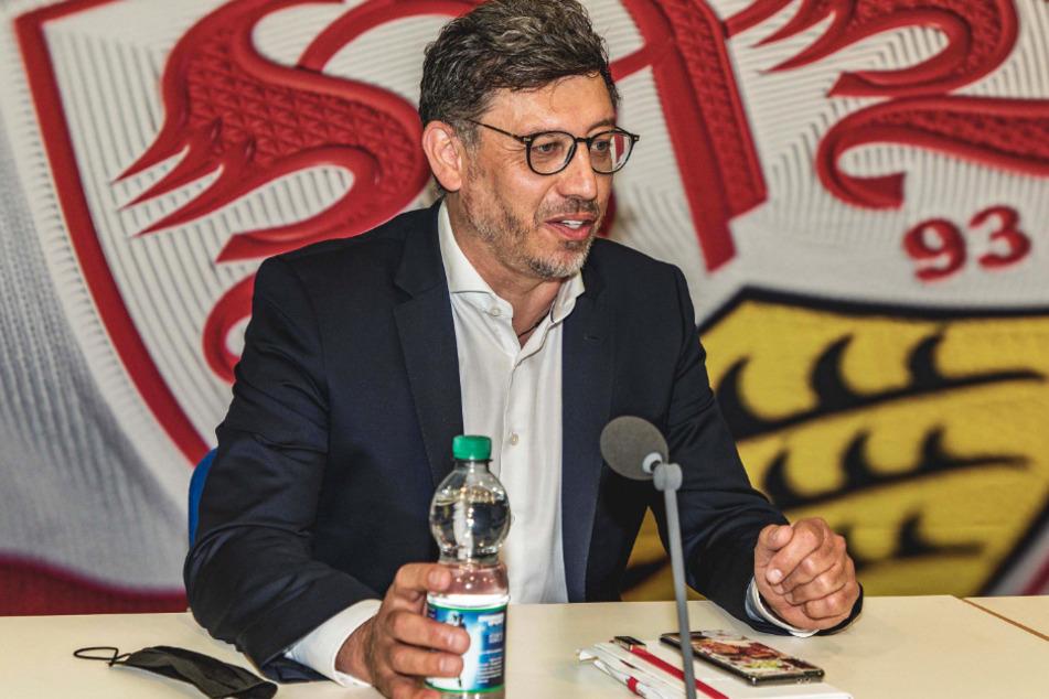 Nach Präsident Claus Vogt (51) könnte der VfB häufiger ein wichtiges Zeichen wie mit dem Regenbogentrikot setzen.