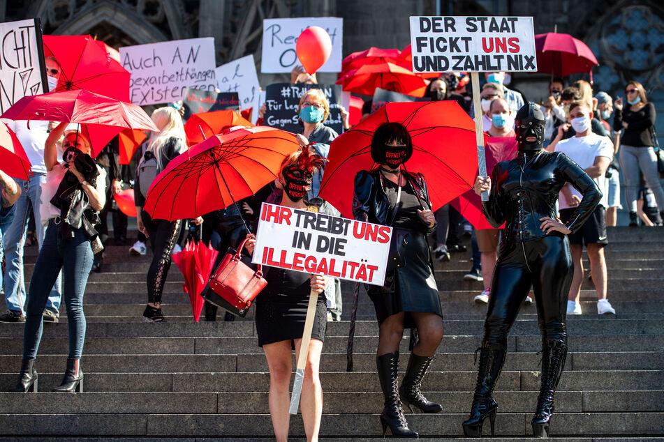 Arbeitsverbot für Prostituierte wegen Corona in NRW bleibt!