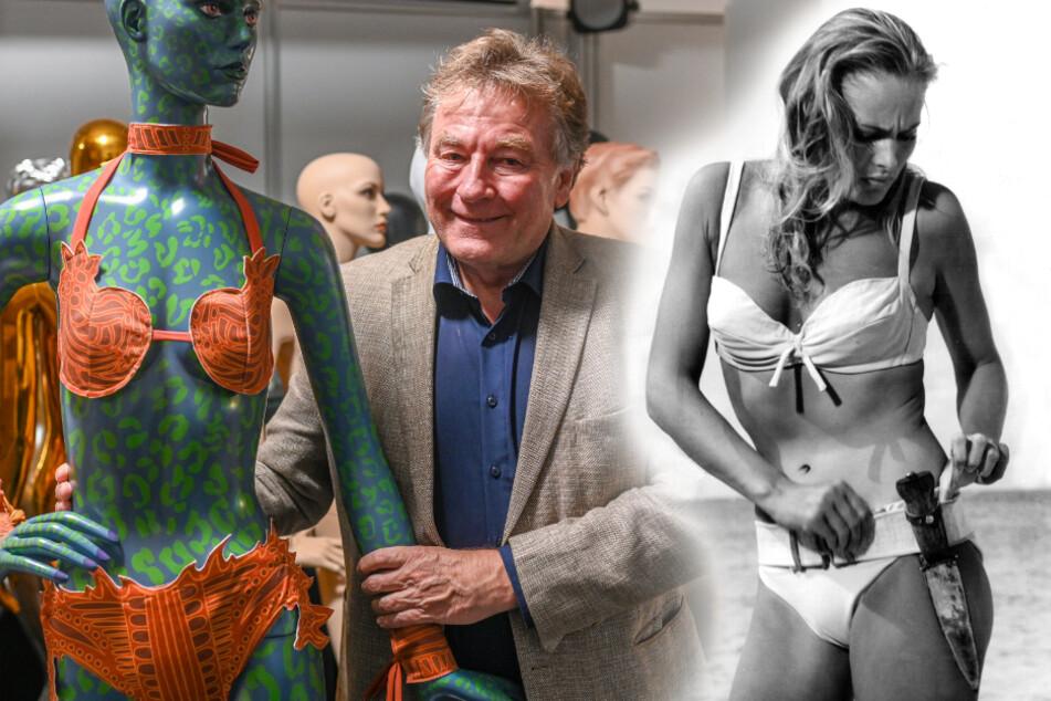 """München: Heiß begehrter Stoff: So viel wollen Bieter für """"James-Bond-Bikini"""" zahlen"""
