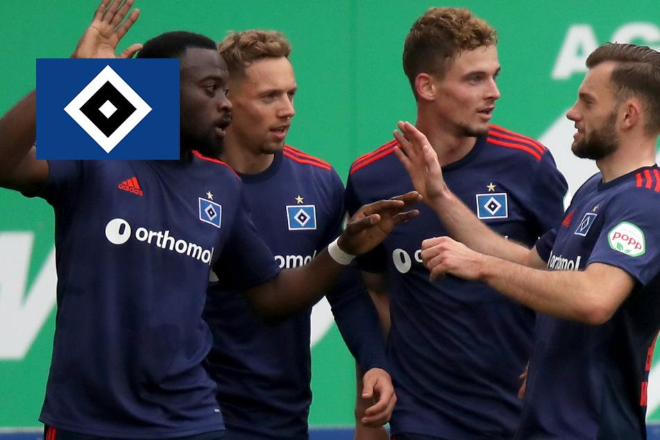 HSV triumphiert in Fürth trotz Unterzahl und holt sich die Tabellenführung!