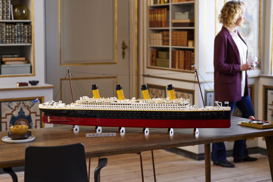 The Lego's new Titanic model will cost some big bucks.