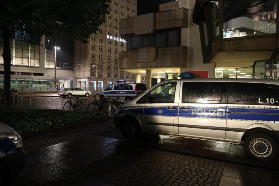 Die Tat ereignete sich neben dem Gewandhaus in der Leipziger Innenstadt.