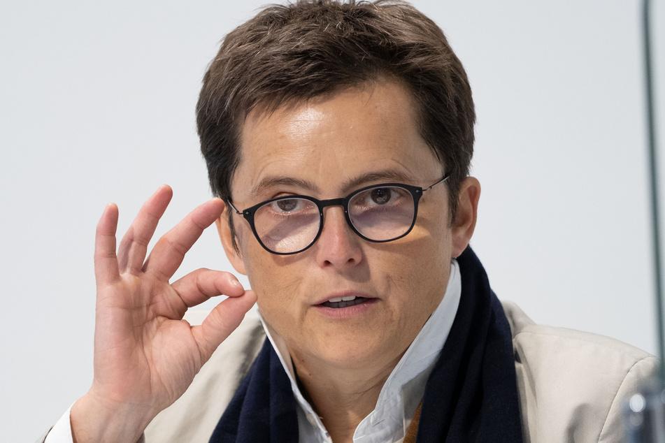 Die Sprecherin der niedersächsischen Landesregierung, Anke Pörksen (54).