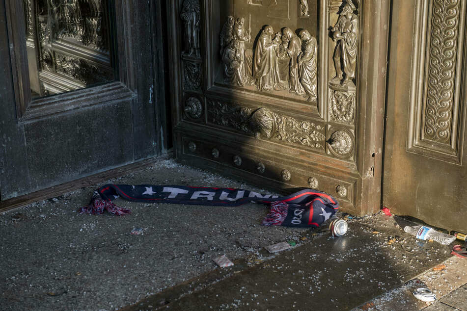 The aftermath of the violent break-in that left the nation stunned.