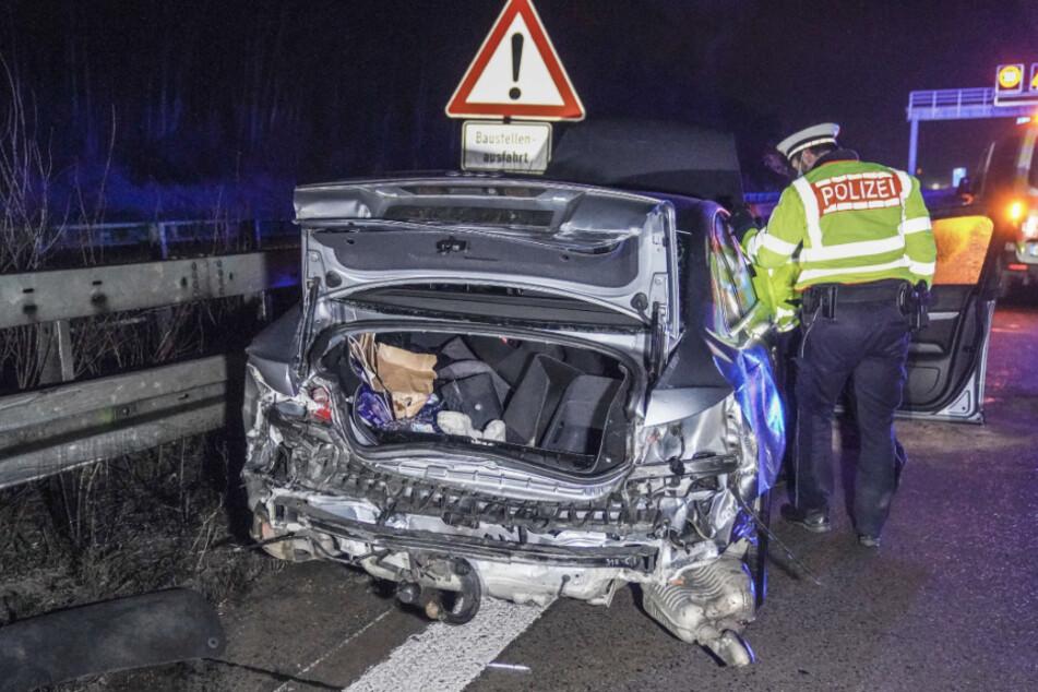Schwerer Unfall auf A8: Sperrung in Richtung München