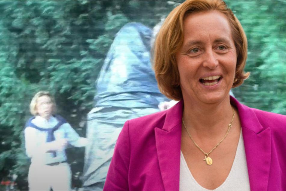 AfD-Politikerin Beatrix von Storch protestiert gegen Rassismus-Debatte, dann kommt die Polizei