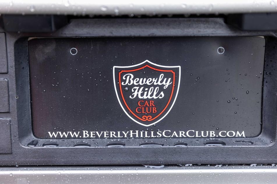 Das Auto wurde vom Beverly Hills Car Club aus den USA importiert.