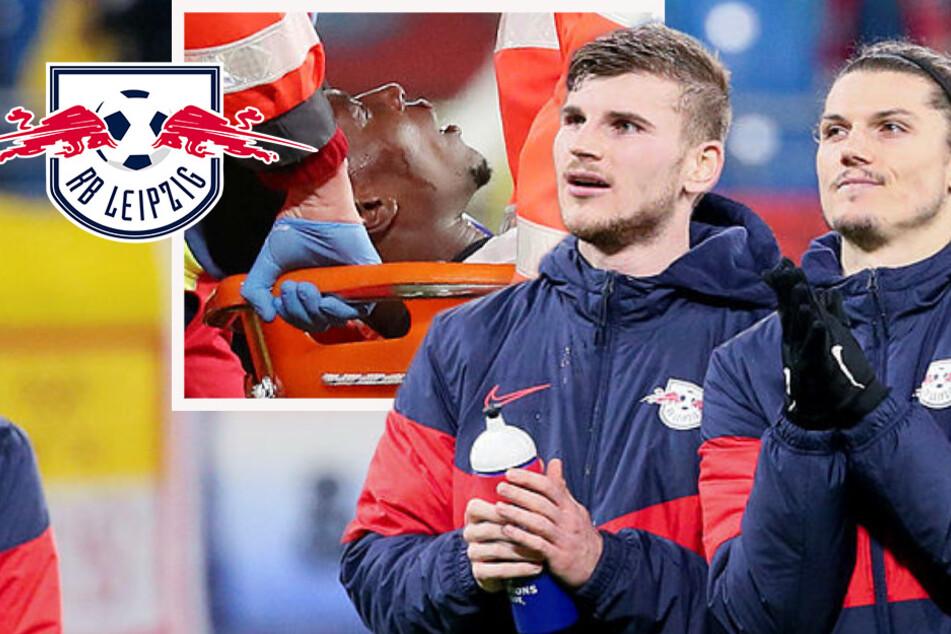 RB Leipzig souverän im Viertelfinale: Schlaflos-Sabitzer, Werner-Lob und Mukiele-Schock