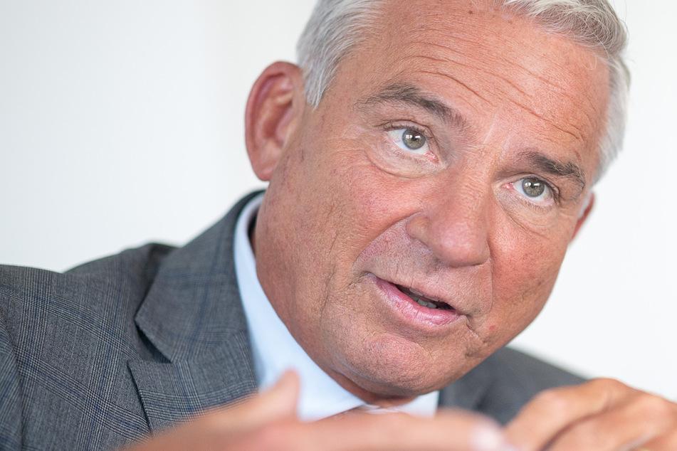 Er findet die Querdenken-Bewegung gefährlich: Baden-Württembergs Innenminister Thomas Strobl (60, CDU).