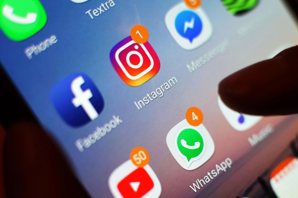 Pädosexuelle bedienen sich bei privaten Fotos auf Instagram und Facebook. (Symbolbild)
