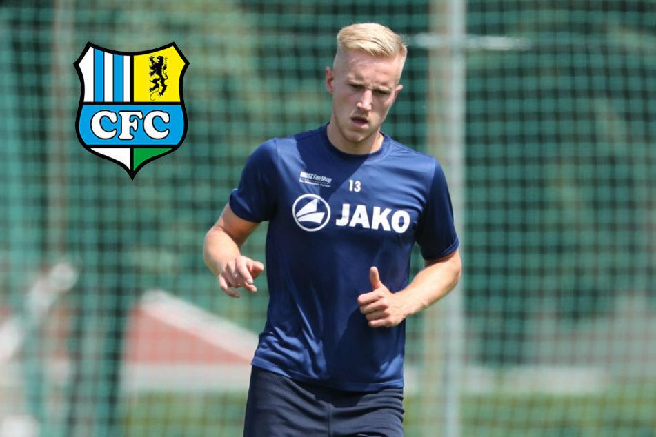Rückkehrer Dartsch überzeugt im ersten Testpiel des Chemnitzer FC mit zwei Toren