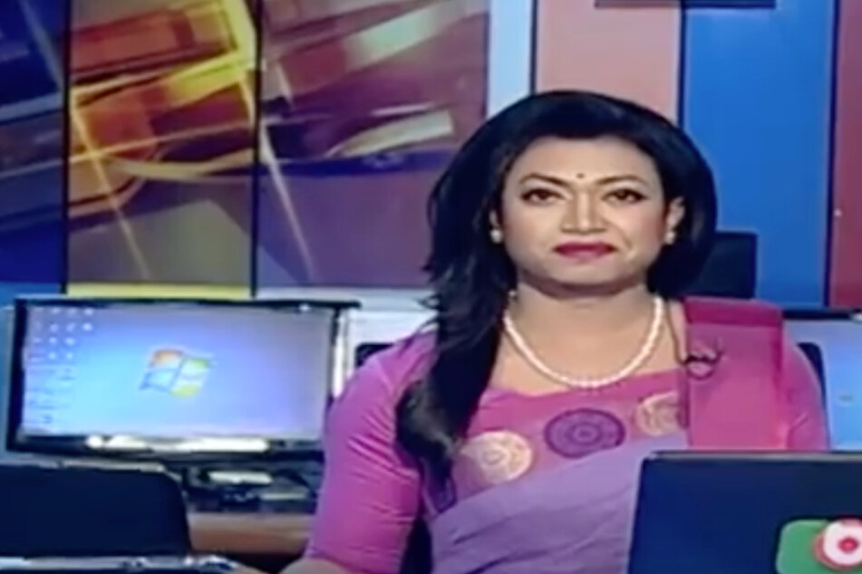 Bangladesh's first transgender news anchor makes trailblazing debut