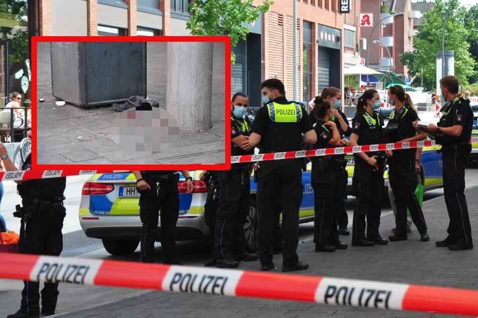 Messerstecherei an Hamburger Bahnhof: Opfer lebensgefährlich verletzt im Krankenhaus