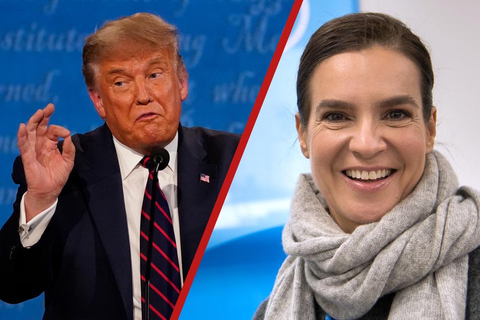 Riverboat: Katarina Witt im Riverboat: Sie gab Donald Trump einen Korb!