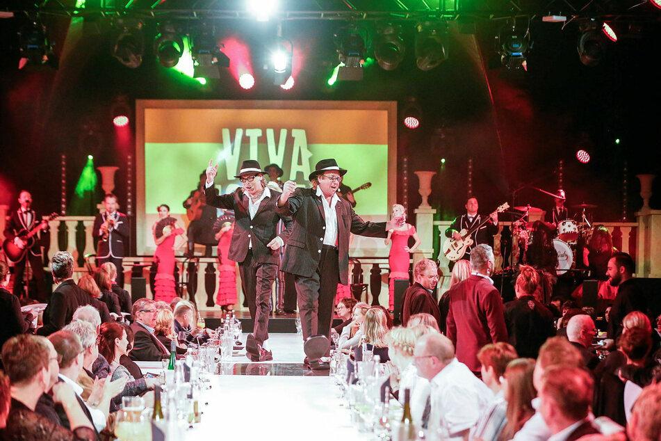 """""""Schlicht & Kümmerling"""" sind die Publikumslieblinge bei """"Mafia Mia""""."""