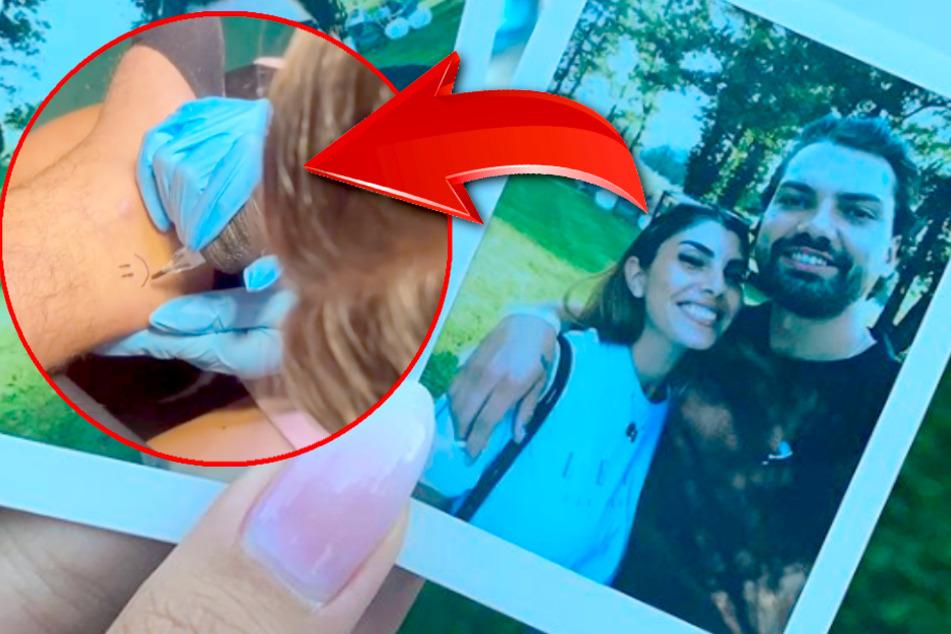 Yeliz Koc und Jimi Blue Ochsenknecht tätowieren sich gegenseitig: Geht ihre Liebe schon unter die Haut?