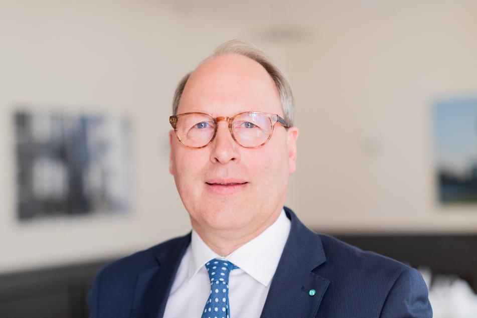Stefan Genth, Hauptgeschäftsführer des Handelsverbandes Deutschland (HDE).