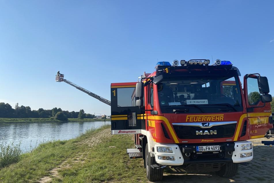 Die Feuerwehr Dresden hat die Suche nach der vermissten Person in der Elbe beendet.