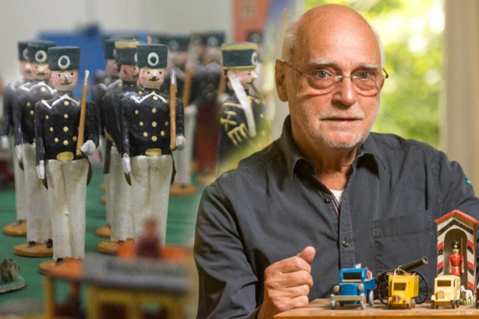 Dresdner Sammler zeigt im Erzgebirge seine Holzspielzeug-Schätze