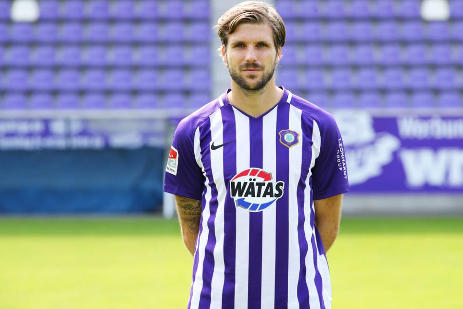 Philipp Zulechner (31) verlässt Ende August frühzeitig den FC Erzgebirge Aue.
