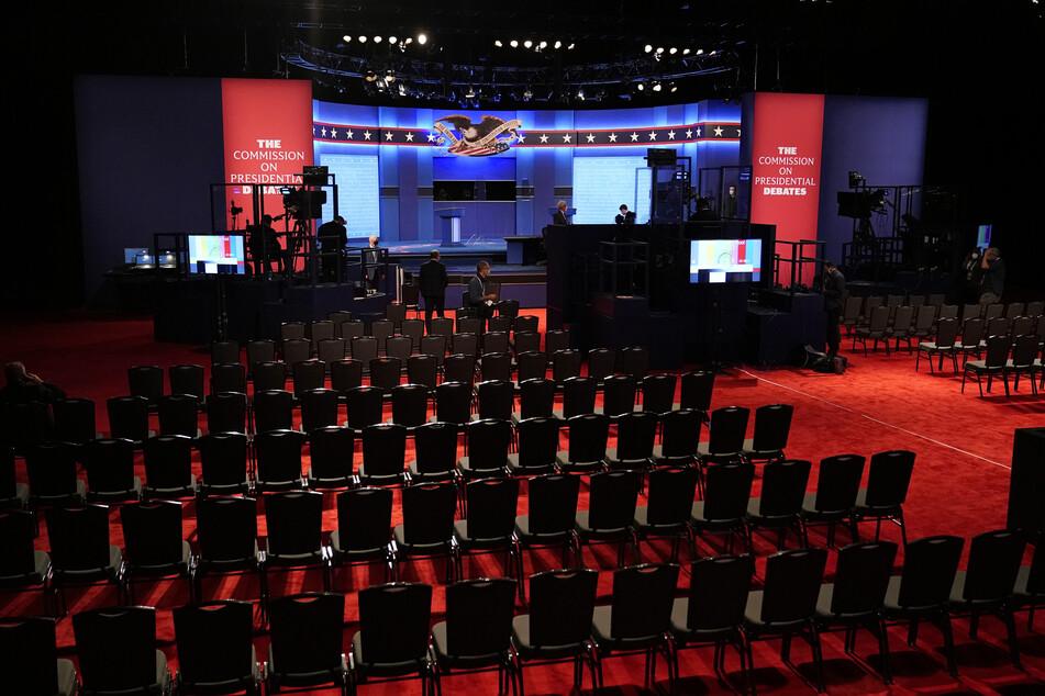 Auf dieser Bühne findet das letzte TV-Duell zwischen Trump und Biden vor den US-Wahlen am 3. November statt.