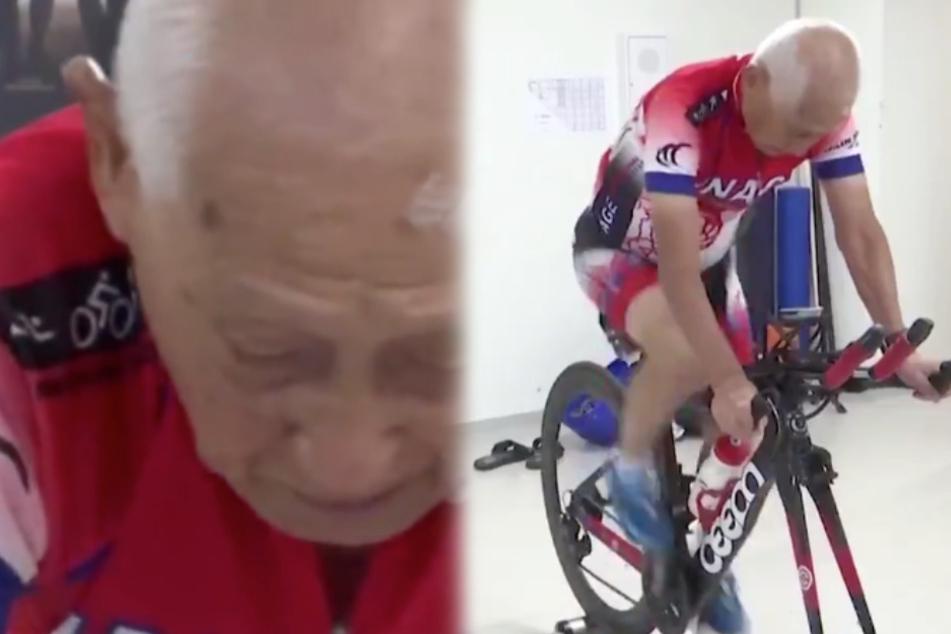 Alter kein Hindernis: Fitness-Freak (87) will wieder zum Ironman!