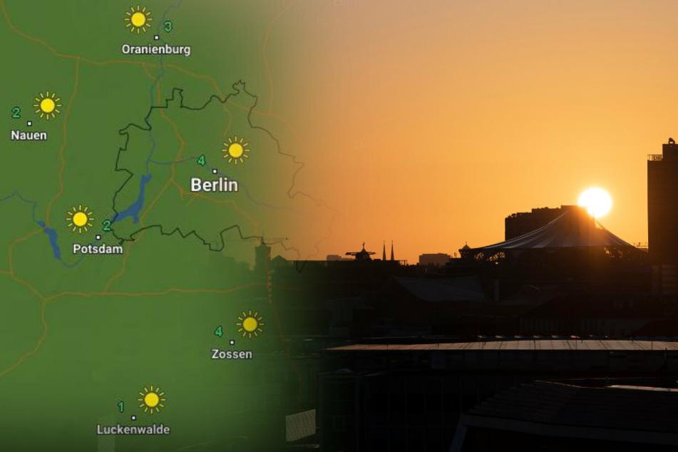 Das Wetter in Berlin und Brandenburg wird wechselhaft. (Bildmontage)