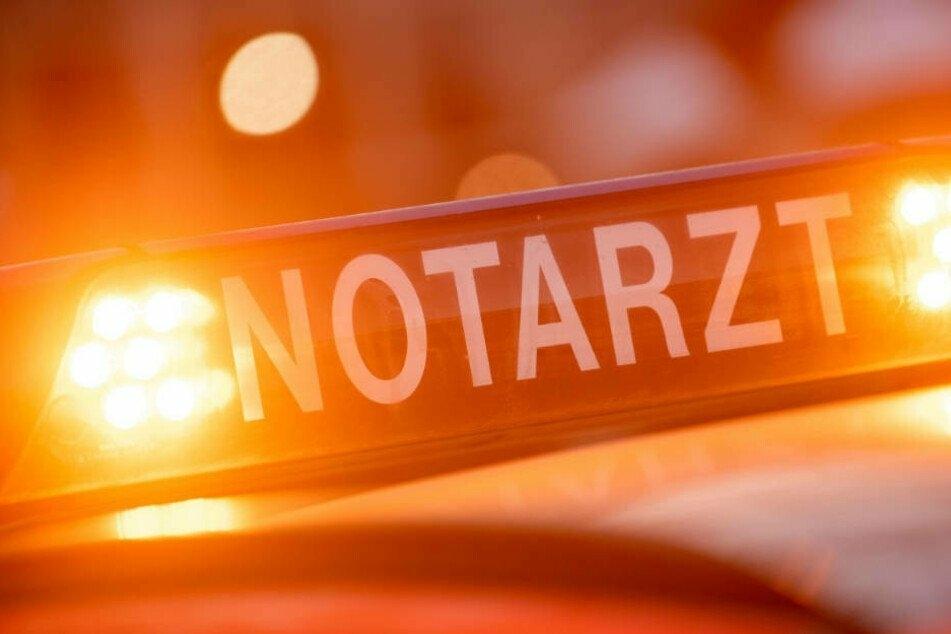 Drei Polizisten wurden in Zwönitz verletzt (Symbolbild).