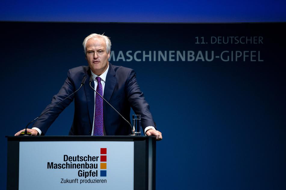 Carl Martin Welcker, VDMA-Präsident.