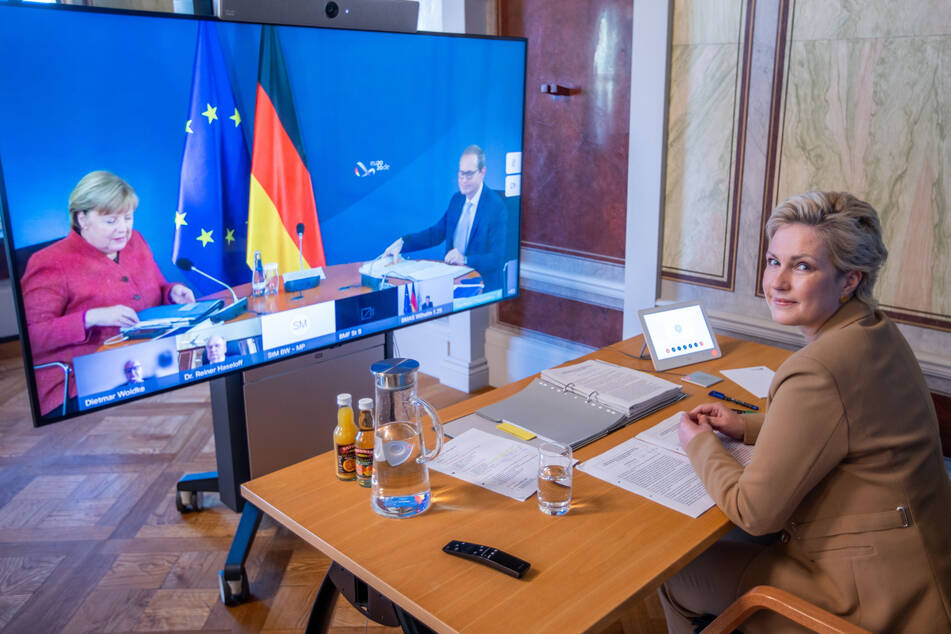 Die Bundesregierung und die Ministerpräsidenten konferierten zuletzt schon häufiger in großer Runde, um über Corona-Maßnahmen zu diskutieren.
