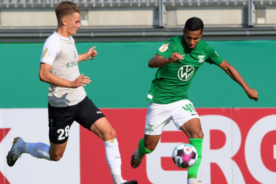 Im DFB-Pokal gegen den FSV Union Fürstenwalde lief es beim VfL Wolfsburg noch nicht rund.