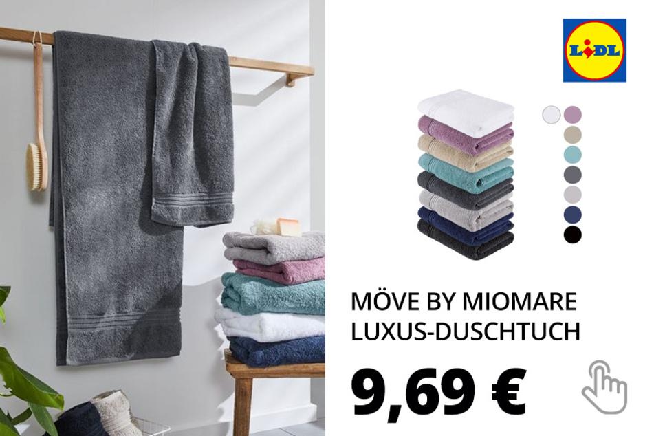 Möve by miomare Luxus-Duschtuch, 80 x 150 cm