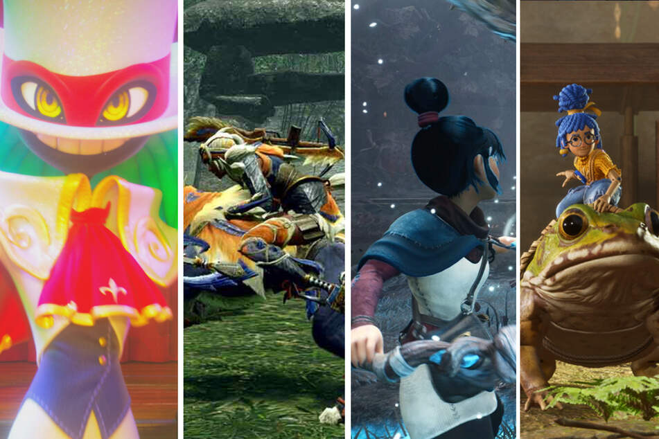 Monster Hunter, It Takes Two, Balan Wonderworld und Kena: Diese Games erwarten Euch im März!