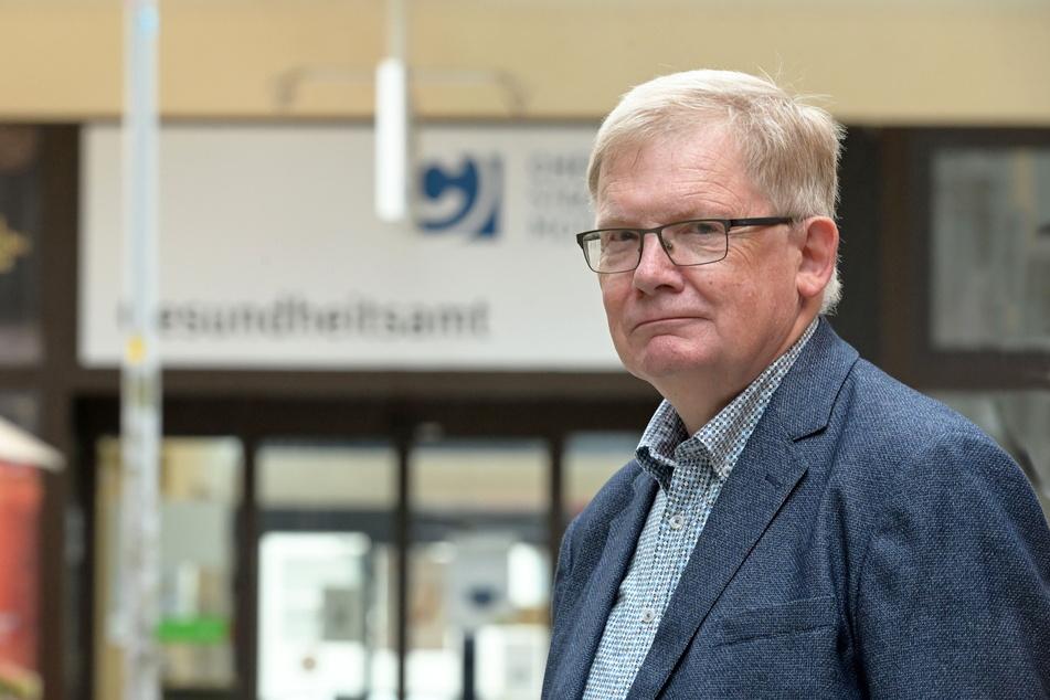 Dietmar Berger (70, Linke) warnt vor Folgekosten eines Umzugs.