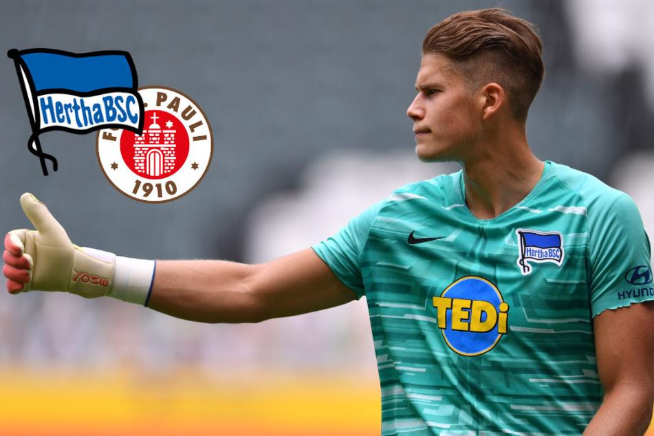 Hertha-Keeper Dennis Smarsch wechselt zu St. Pauli
