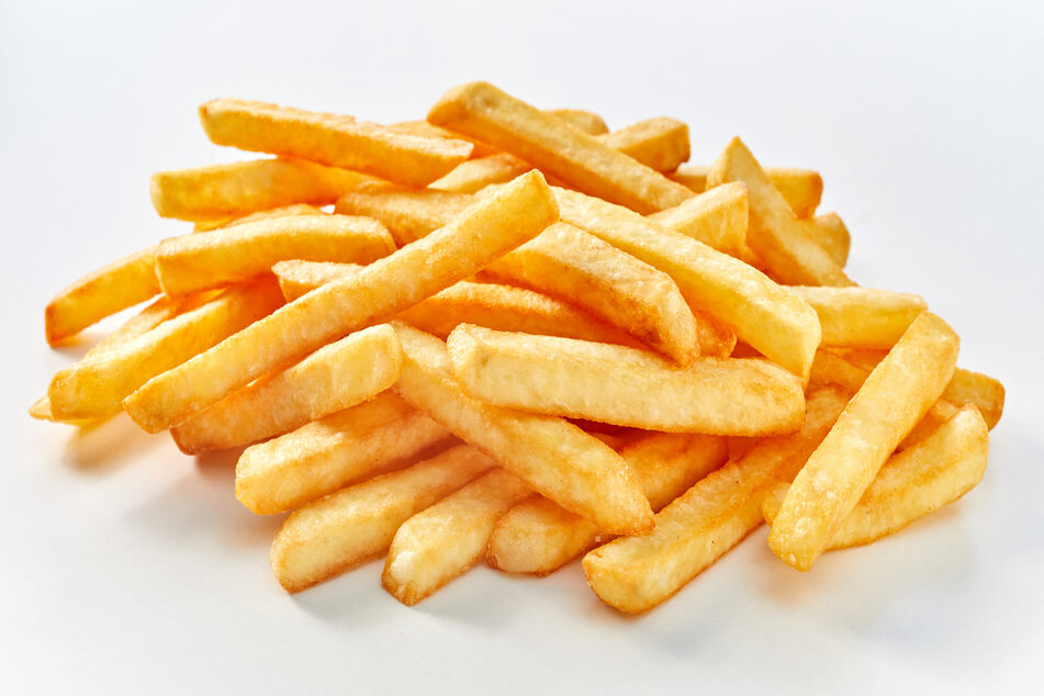 A pregnant woman from Cambridge found a disgusting surprise when she tucked into her fries.