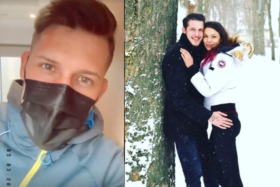 Ex-Pornodarsteller Jannik Rubeck (24) und Dschungelcamp-Heulsuse Gisele Oppermann (33) haben sich getrennt - vorerst.