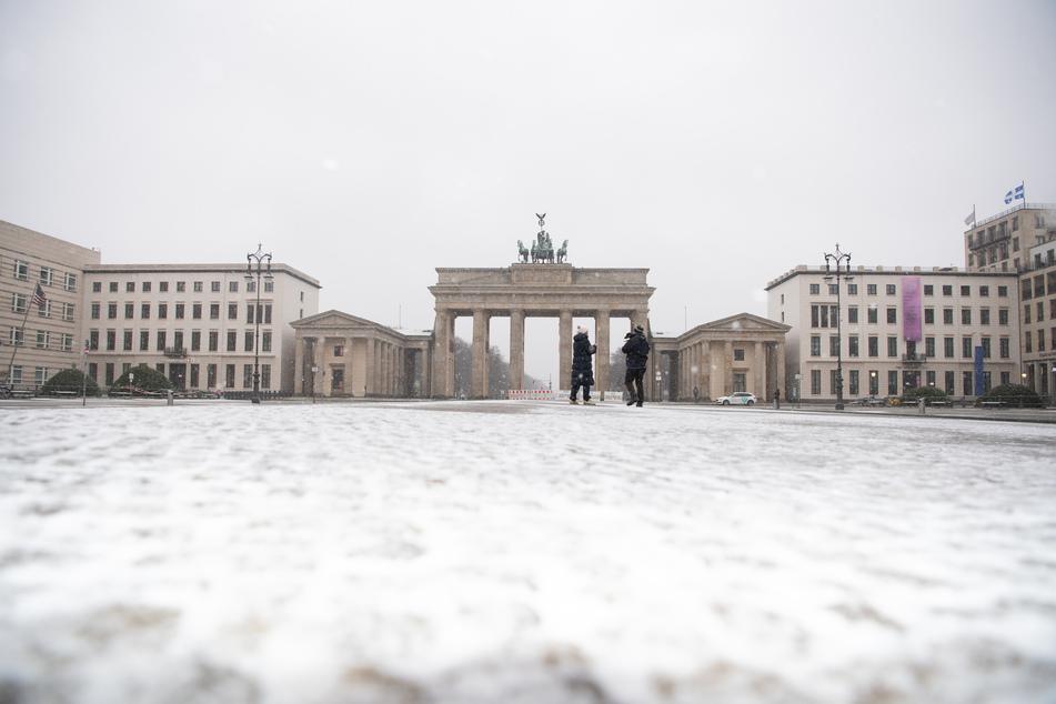 In Berlin und Brandenburg soll es auch in den kommenden. Tagen schneien.