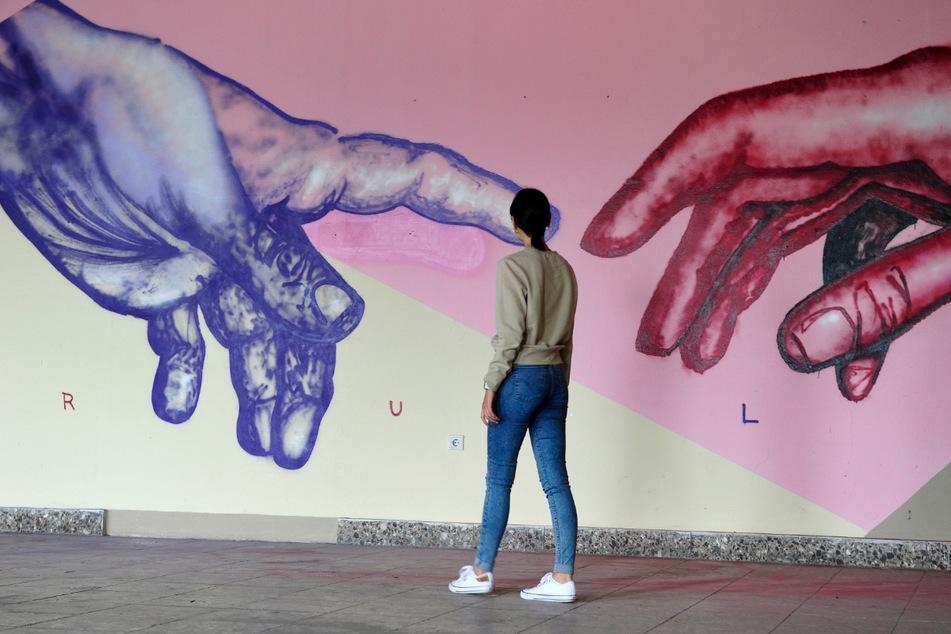 Seit Anfang August arbeiten die Künstler an ihren Werken. Jetzt sind sie für die Öffentlichkeit zugänglich.