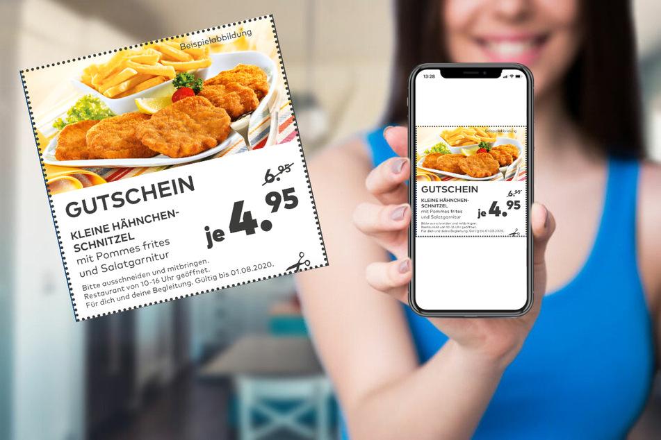Einfach aufs Bild klicken und beim Essen sparen.