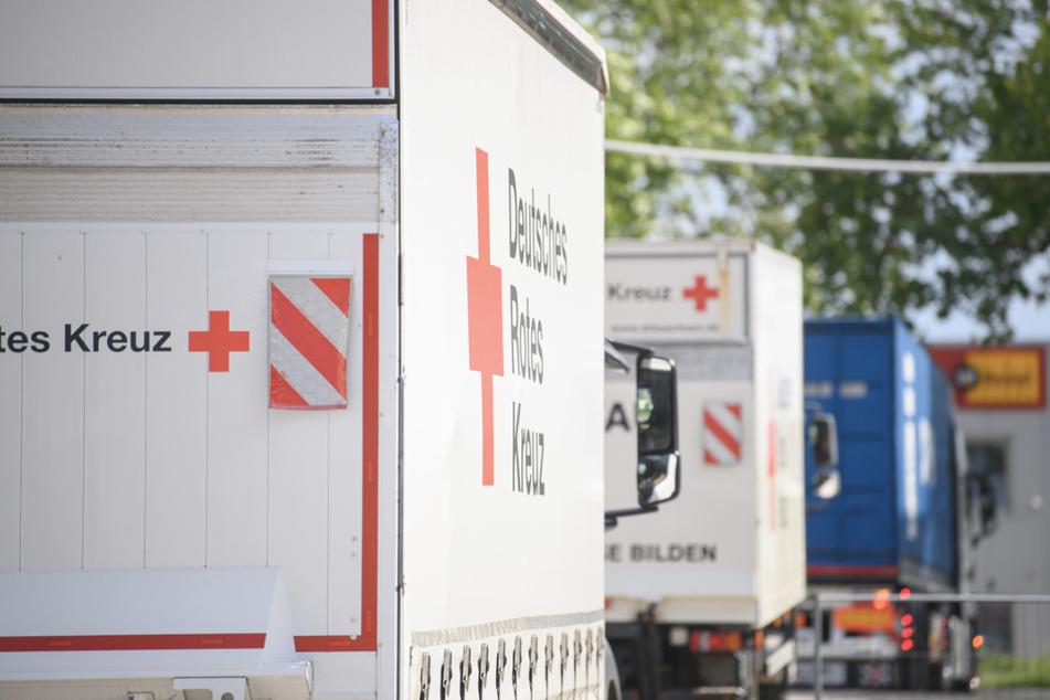 Für die Hilfstransporte wurde das Sonntagsfahrverbot aufgehoben. (Symbolbild)