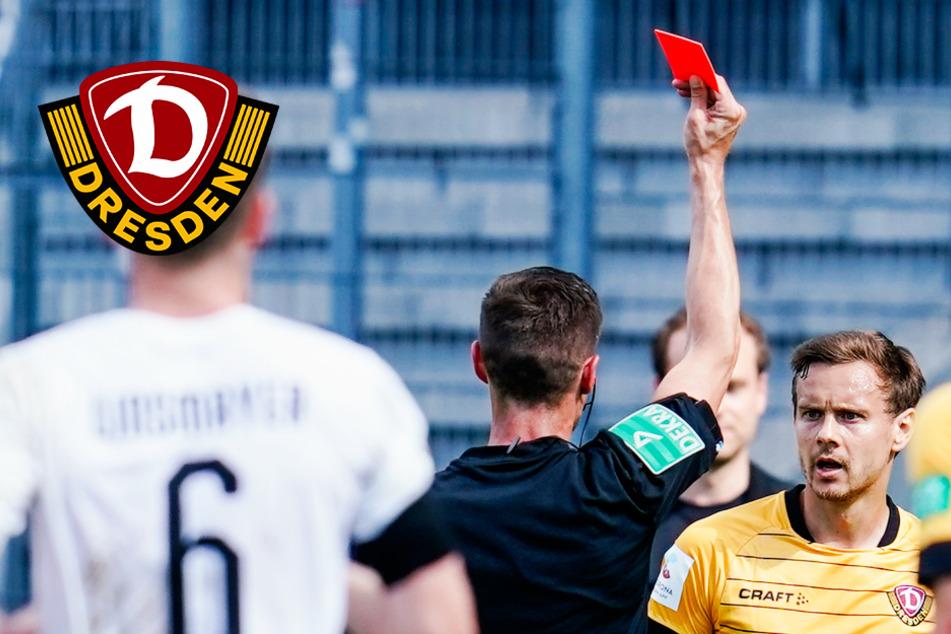 Dynamo-Profi Chris Löwe nach Roter Karte vom DFB gesperrt!