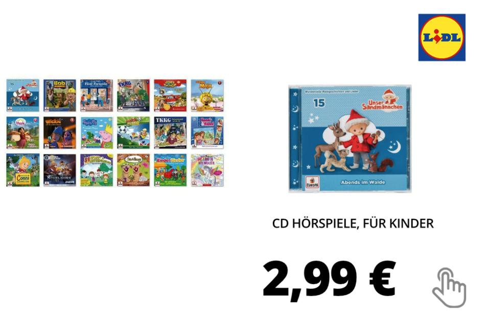 CD Hörspiele, für Kinder