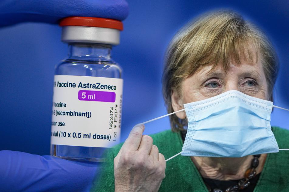 Bundeskanzlerin Merkel hofft, dass im April deutlich mehr als bisher geimpft werden kann.