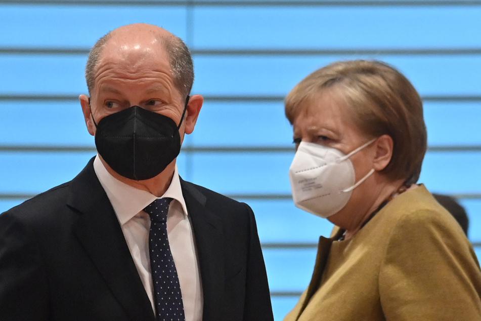 Bundeskanzlerin Angela Merkel (66, CDU) und Finanzminister Olaf Scholz (62, SPD) müssen Deutschland gemeinsam durch die Corona-Krise führen.