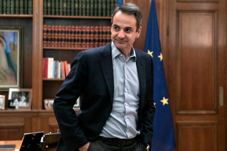 Kyriakos Mitsotakis (52), Ministerpräsident von Griechenland.