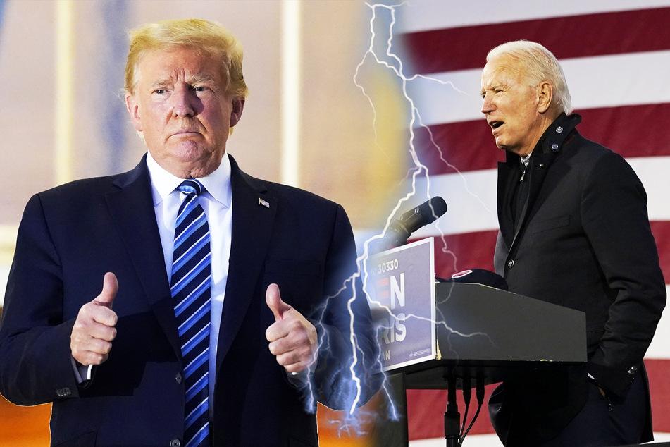 Donald Trump und Joe Biden: Mit diesen Lügen wollten sie im TV-Duell überzeugen!