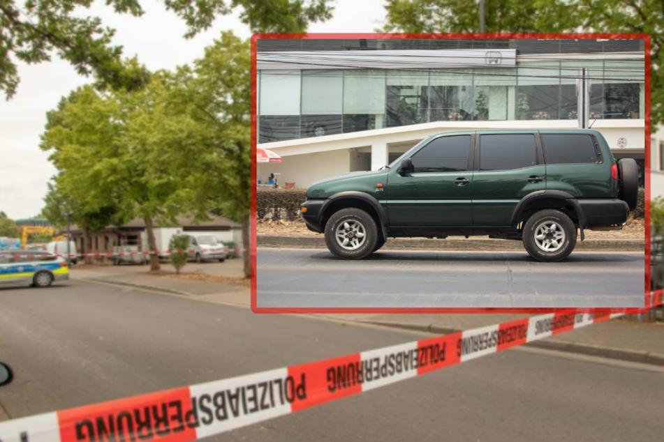 Versuchte Tötung: Fahndung nach SUV mit Kölner Nummernschild