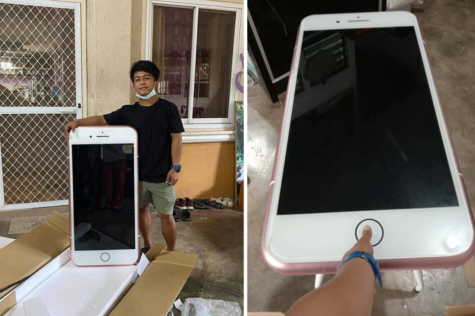 Too good to be true: Teenager's iPhone order goes wrong – BIG time!